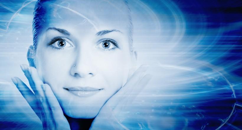 bigstock-Beautiful-cyber-girl-s-face-on-13194197